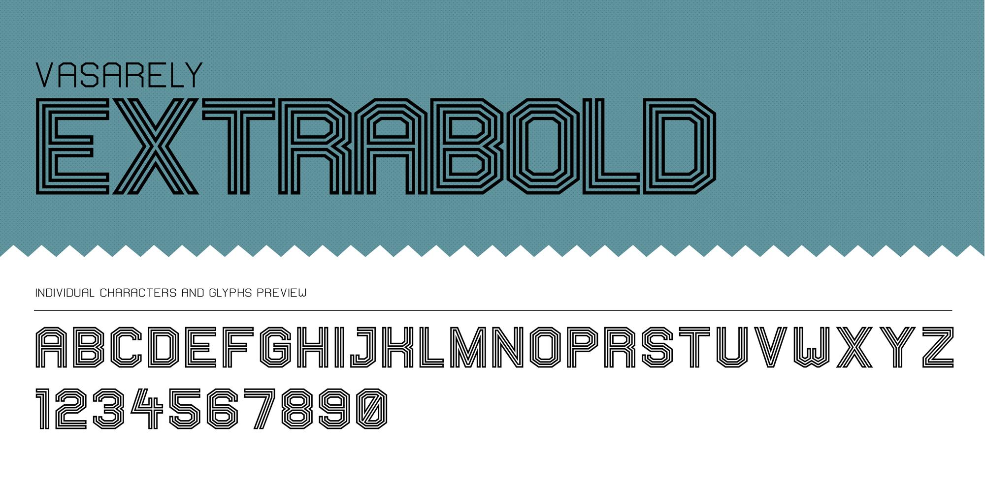 Vasarely presentation - extrabold